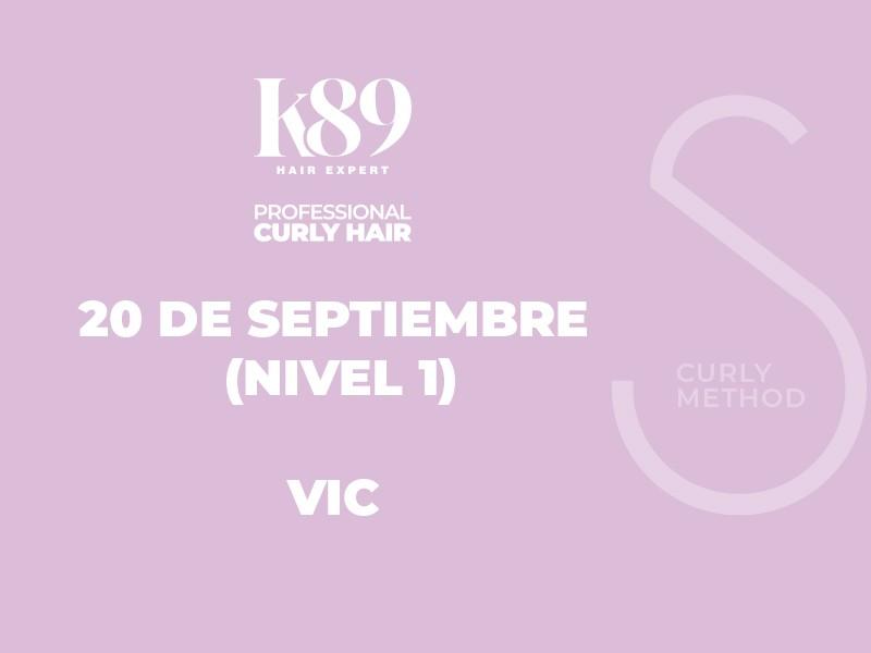 PROFESSIONAL CURLY HAIR NIVEL 1 - VIC