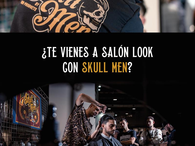 SKULL MEN SERÁ PARTE DE LA FERIA SALÓN LOOK
