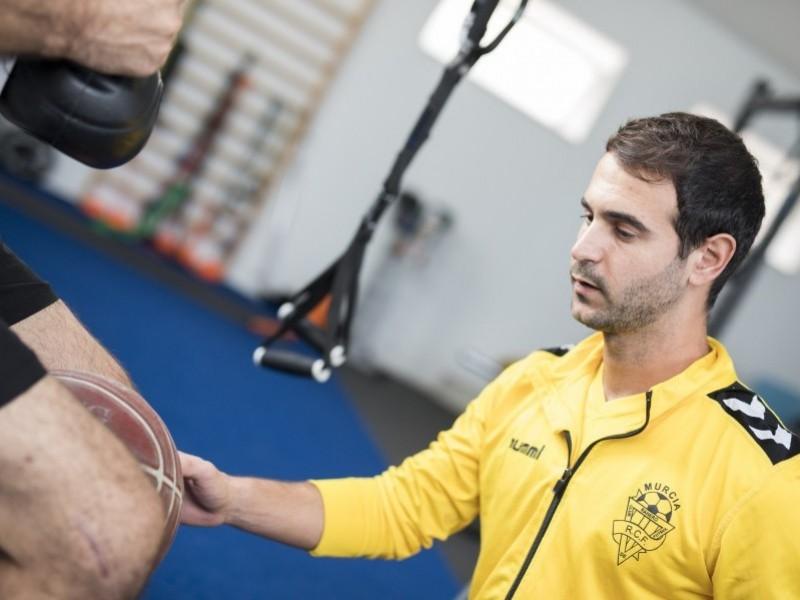 Readaptacion de lesión deportiva