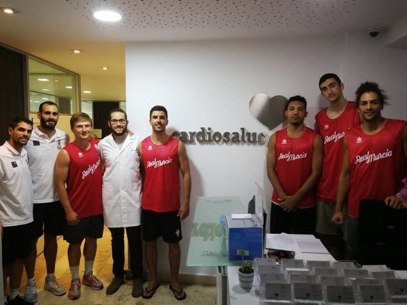 Puesta a punto para el Real Murcia Baloncesto