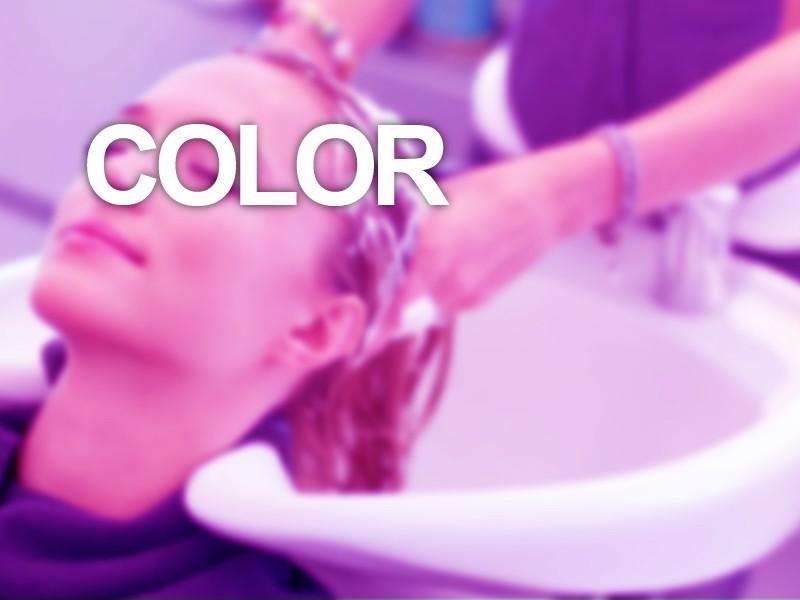 Lavado tratamiento + Color raíces + Tratamiento iluminador