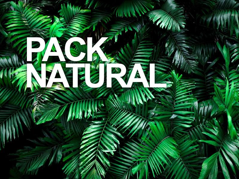 Pack Natural - Lavado + Color 100% natural + Tratamiento Nutritivo