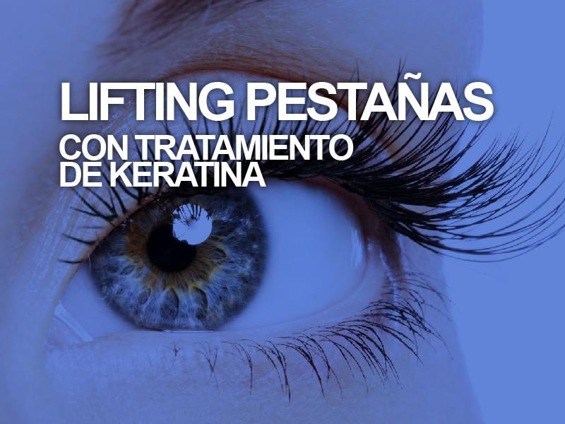 Lifting de pestañas+ Tratamiento de nutrición con Keratina + Tinte de pestañas
