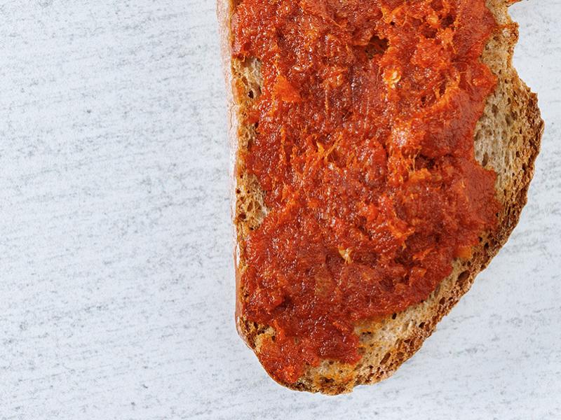 Paté vegetal de pimentón (sobrasada) | Artichoke