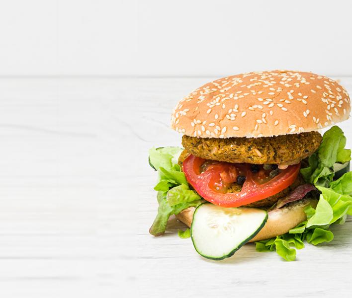 Burger Vegetales | Artichoke